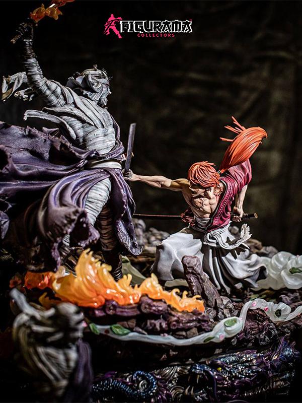 Figurama Rurouni Kenshin Kenshin vs. Shishio 25th Anniversary Elite Exclusive 1:6 Statue