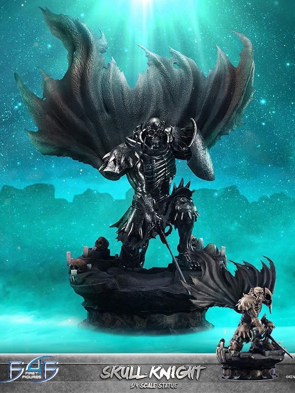 First4Figures Berserk Skull Knight Regular Grey/White Bone Variant 1:4 Statue