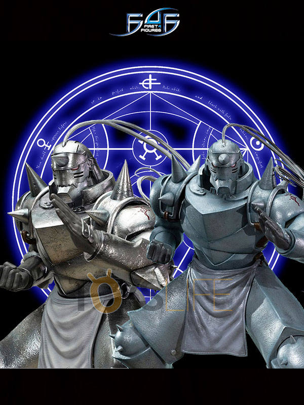 First4Figures Full Metal Alchemist Alphonse Elric Gray/Silver Variant Statue