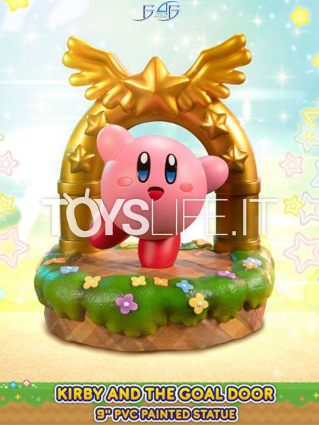 First4Figures Kirby Kirby And The Goal Door Pvc Statue