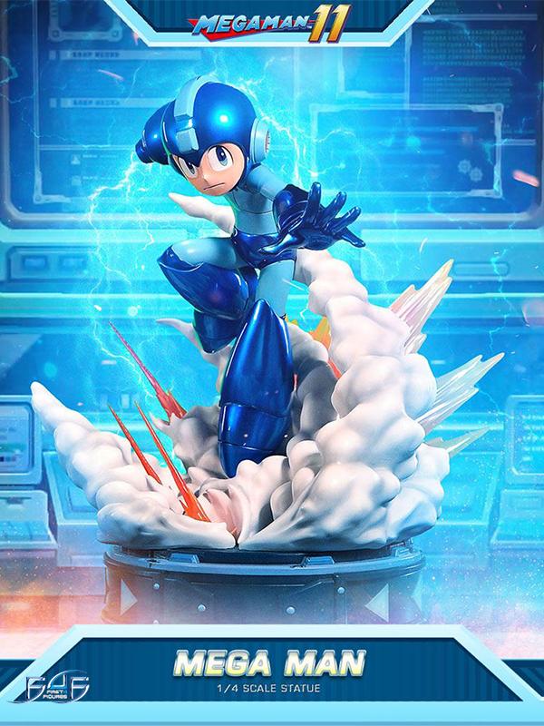 First4Figures Megaman 11 Megaman 1:4 Statue