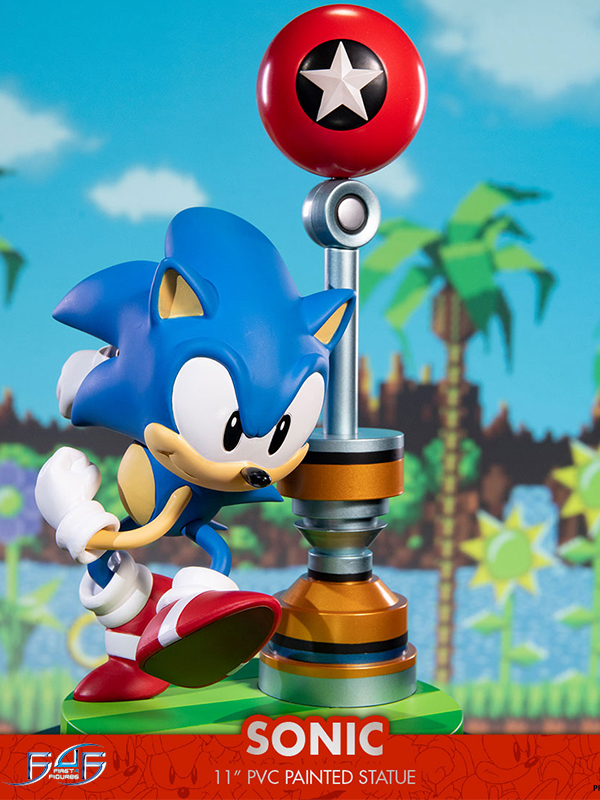 Firs4Figures Sonic the Hedgehog Sonic Pvc Statue