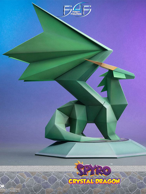 First4Figures Spyro the Dragon Crystal Dragon Statue