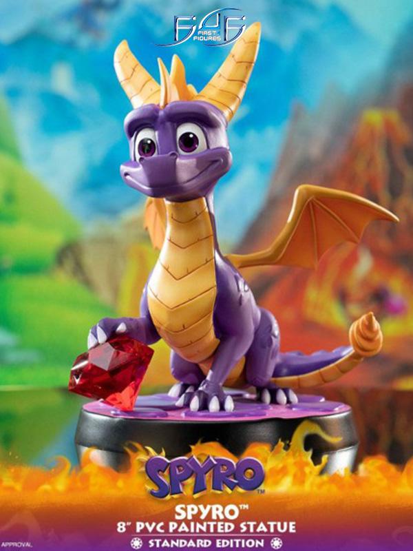 First4Figures Spyro The Dragon Spyro Pvc Statue