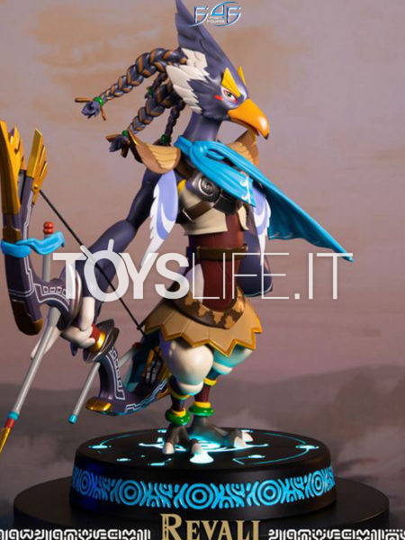 First 4 Figures Zelda Breath Of The Wild Revali Collector's Edition Pvc Statue
