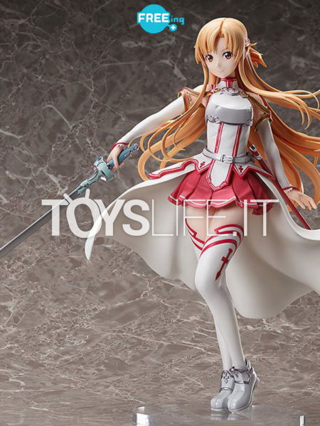 Freeing Sword Art Online Alicization War of Underworld  Asuna Knights Of The Blood 1:4 Pvc Statue