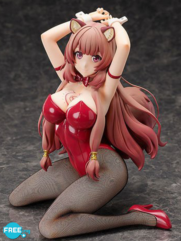 Freeing The Rising Of The Shield Hero Raphtalia Hero Bunny Pvc Statue