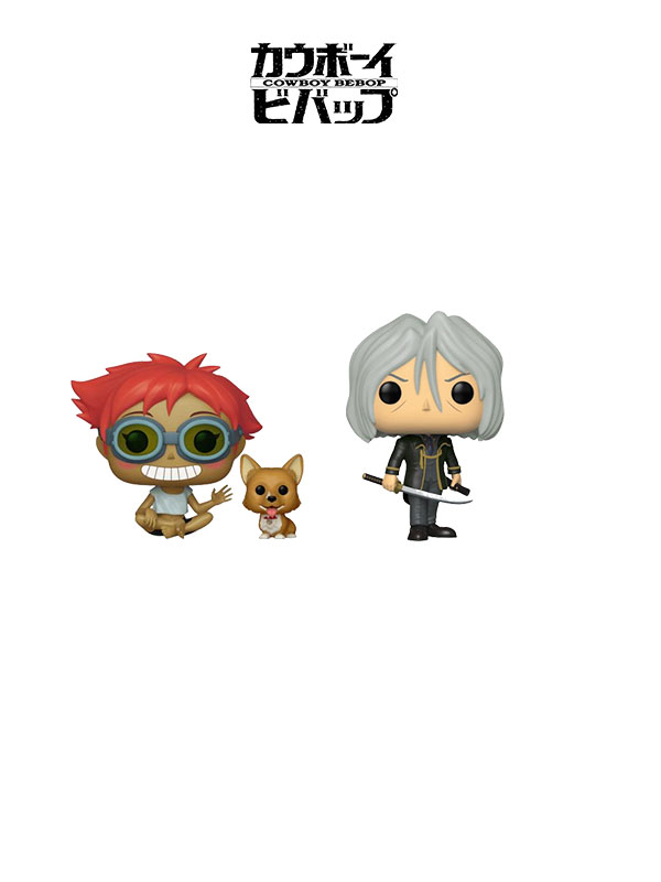 Funko Animation Cowboy Bebop Edward And elm / Vicious