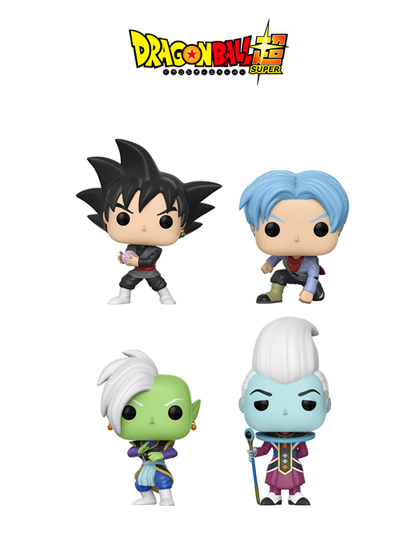 Funko Animation Dragonball Super Goku Black Future Trunks Zamasu & Whis