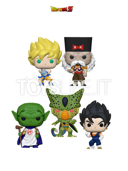 Funko Animation Dragonball Z Goku Super Sayan with Kamehameha/ Vegito/ Dr. Gero/ Cell First Form/ Kami
