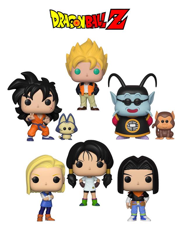 Funko Animation Dragonball Z Goku SS Casual/Andorid 18/Android 17/Yamcha & Puar/King Kai & Bubbles/Videl