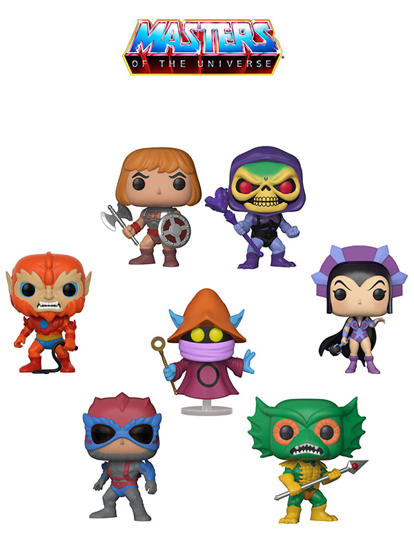 Funko Animation Masters Of The Universe Wave 2017