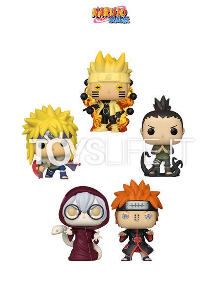 Funko Animation Naruto Shippuden Naruto Six Path/ Minato Namikaze/ Shikamaru Nara/ Kabuto Yakushi/ Pain