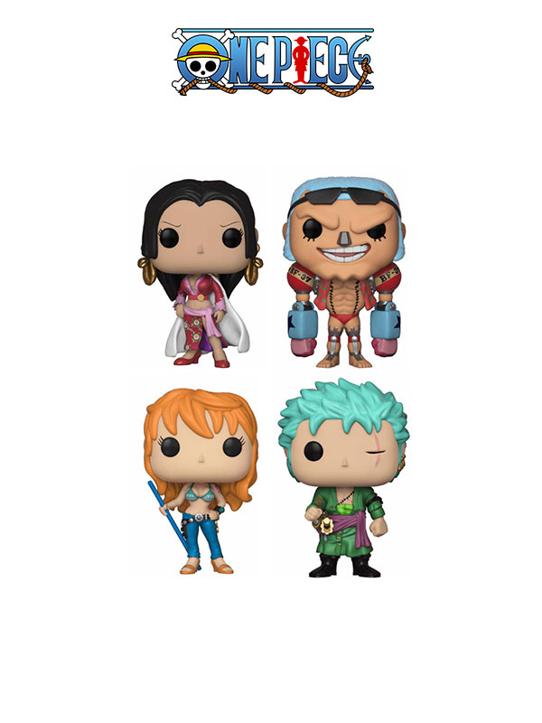 Funko Animation One Piece Wave 2 Boa Hancock Nami Zoro & Franky