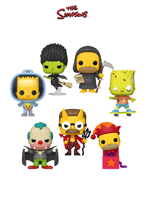 Funko Animation The Simpsons Halloween 2020 Wave
