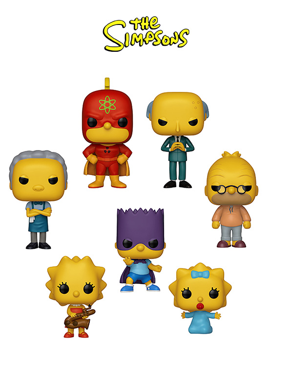 Funko Animation The Simpsons Wave 2019