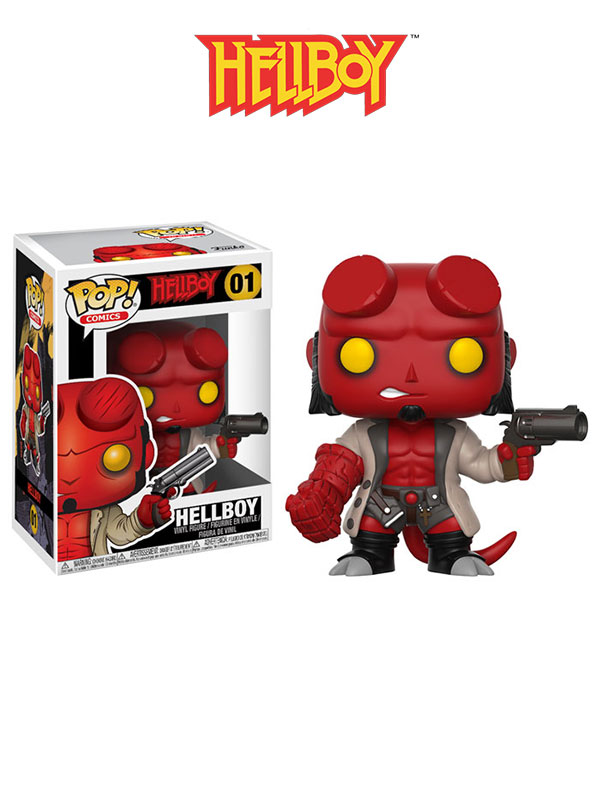Funko Comics Hellboy With Jacket
