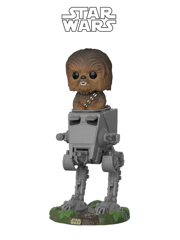 Funko Deluxe Star Wars The Last Jedi Chewbacca In At-St