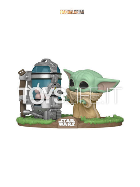 Funko Deluxe Star Wars The Mandalorian The Child With Egg Cannister