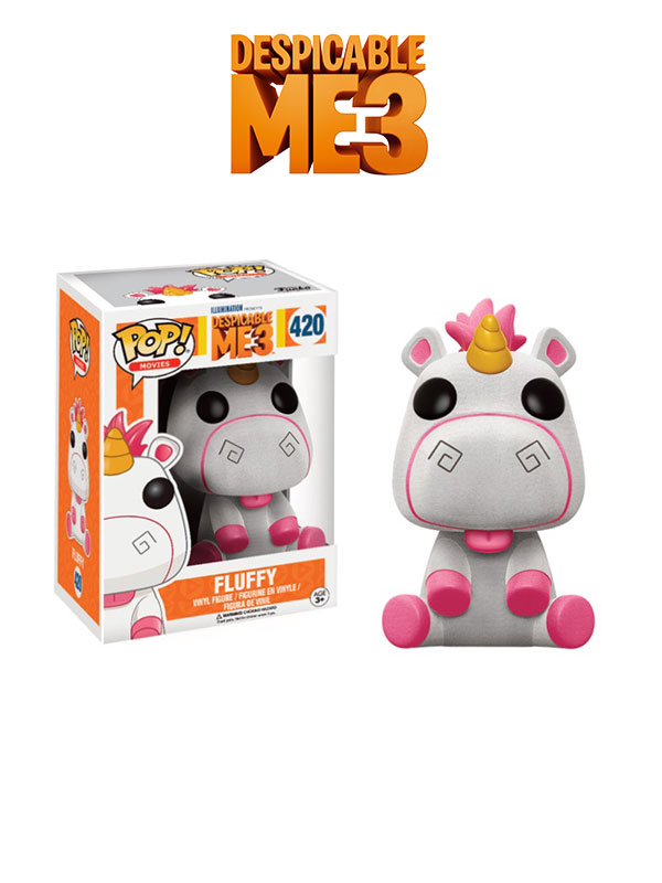 Funko Disney Despicable Me 3 Fluffy Flocked Limited