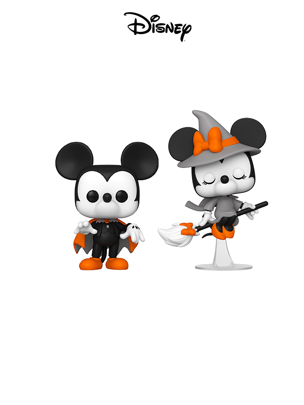 Funko Disney Halloween Spooky Mickey/ Witchy Minnie