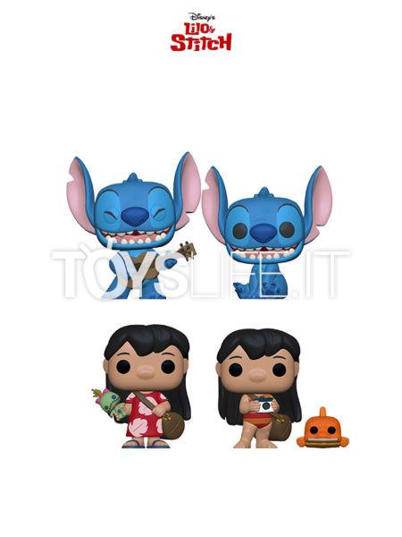 Funko Disney Lilo & Stitch Lilo With Ukulele/ Smiling Seated Stitch/ Lilo With Pudge/ Lilo With Scrump