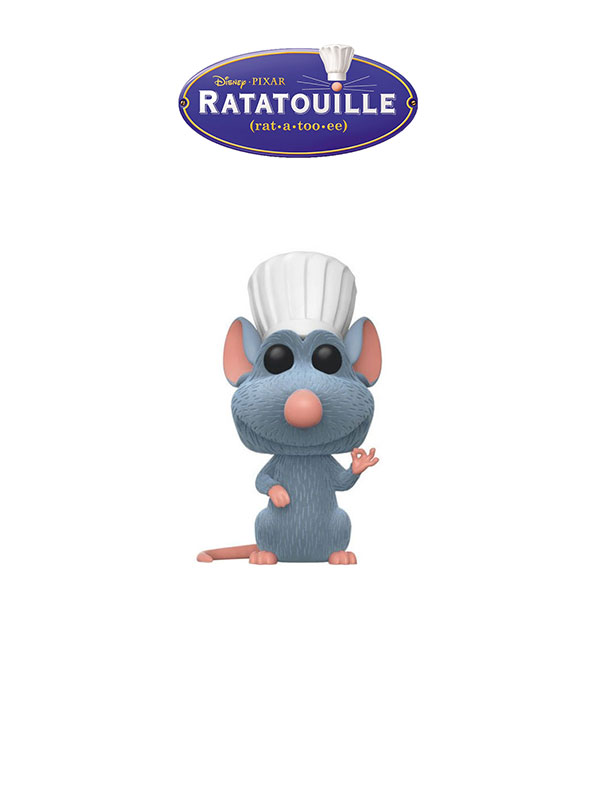 Funko Disney Ratatouille Remy Flocked Chase