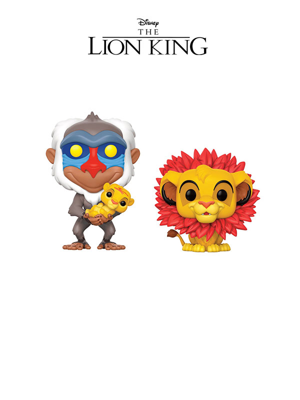 Funko Disney The Lion King Simba Leaf & Rafiki With Simba Copy