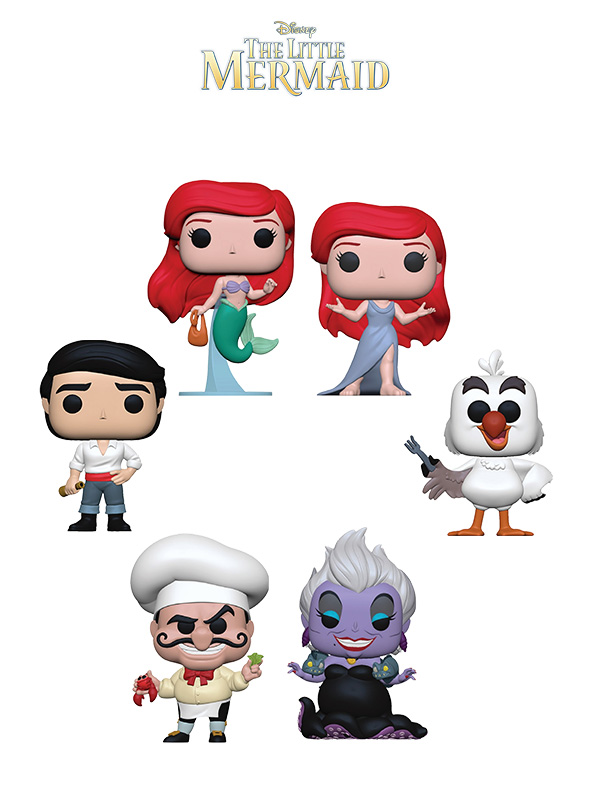 Funko Disney The Little Mermaid Wave 2019
