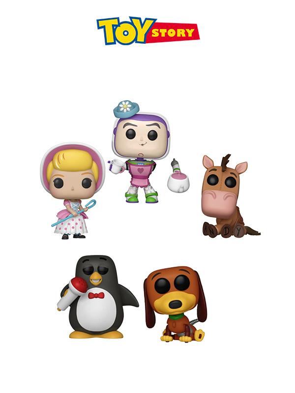 Funko Disney Toy Story Bullseye/Slinky Dog/Mrs. Nesbitt/Bo Peep/Wheezy
