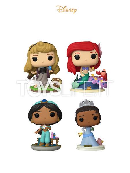 Funko Disney Ariel/ Aurora/ Jasmine/ Tiana Ultimate Princess