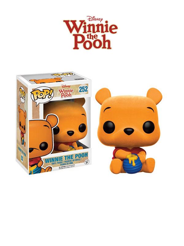 Funko Disney Winnie The Pooh Winnie Flocked Limited