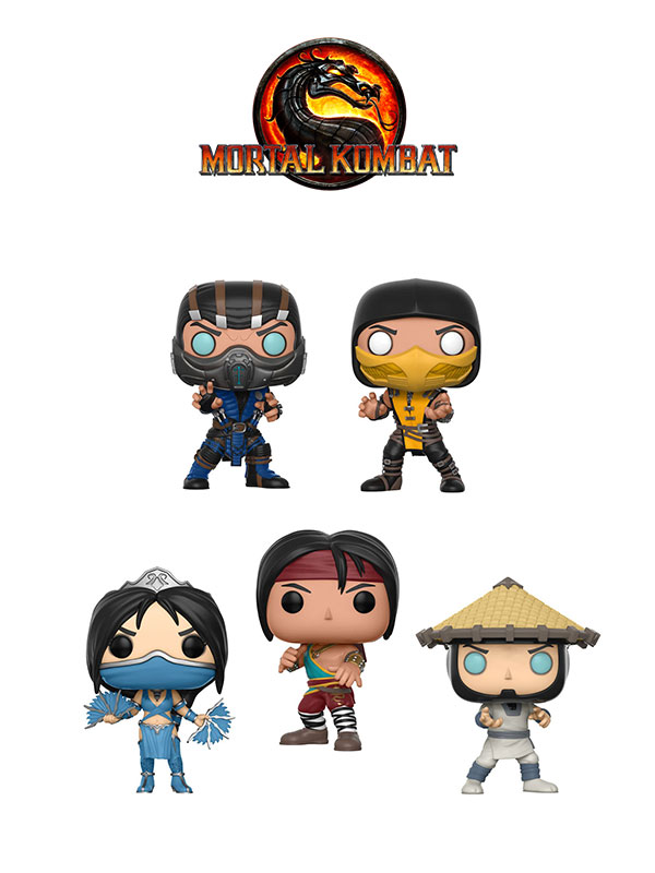 Funko Games Mortal Kombat
