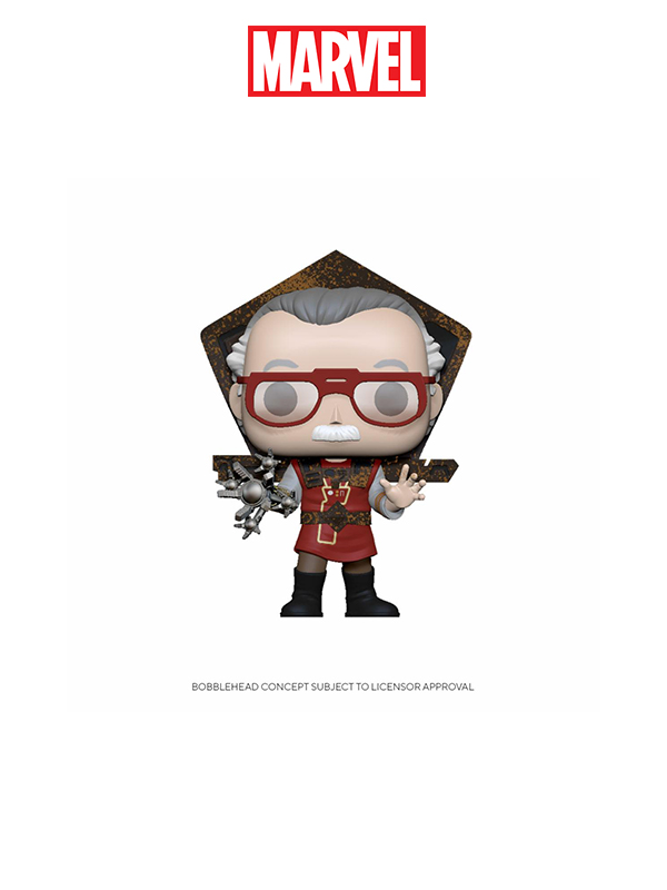 Funko Icons Marvel Stan Lee In Ragnarok Outfit