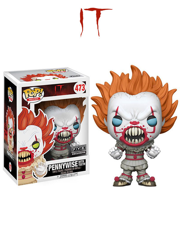 Funko Movies IT Pennywise Fye Exclusive