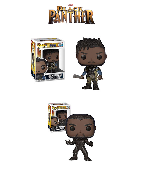 Funko Marvel Black Panther/ Eric Killmonger