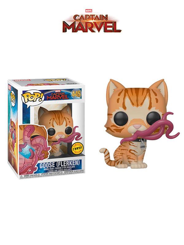 Funko Marvel Captain Marvel Goose The Cat Flerken Chase