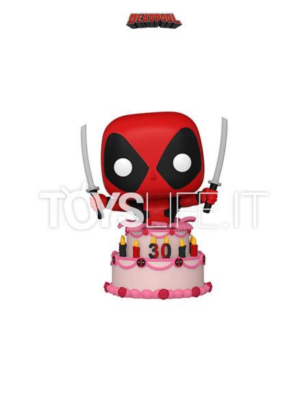 Funko Marvel Comics Deadpool 30th Anniversary Deadpool In Cake