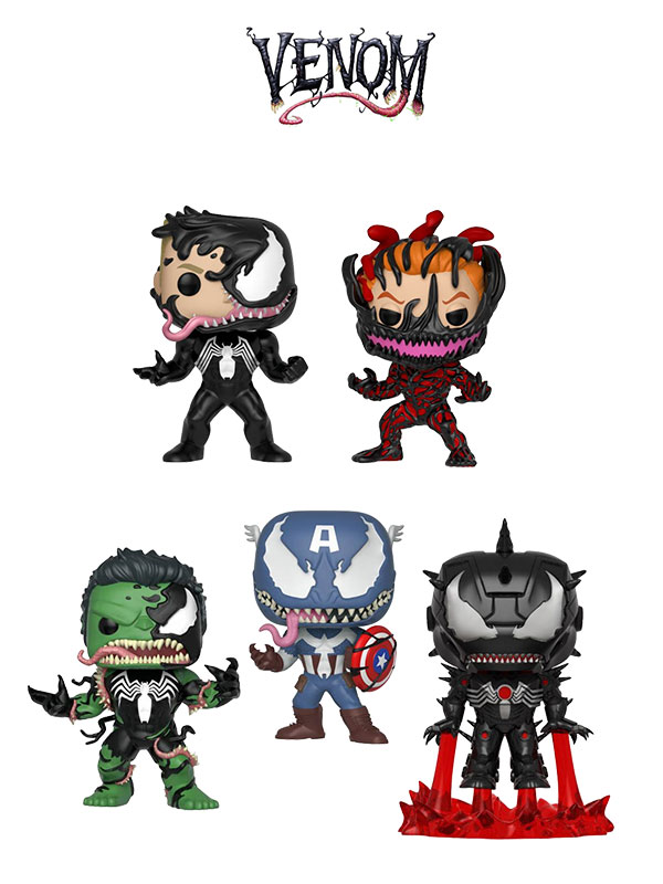 Funko Marvel Venom Wave 2018