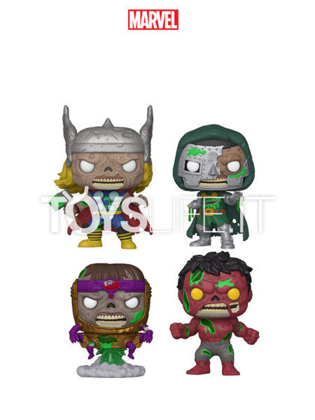 Funko Marvel Zombies Thor/ Dr. Doom/ Modok/ Red Hulk