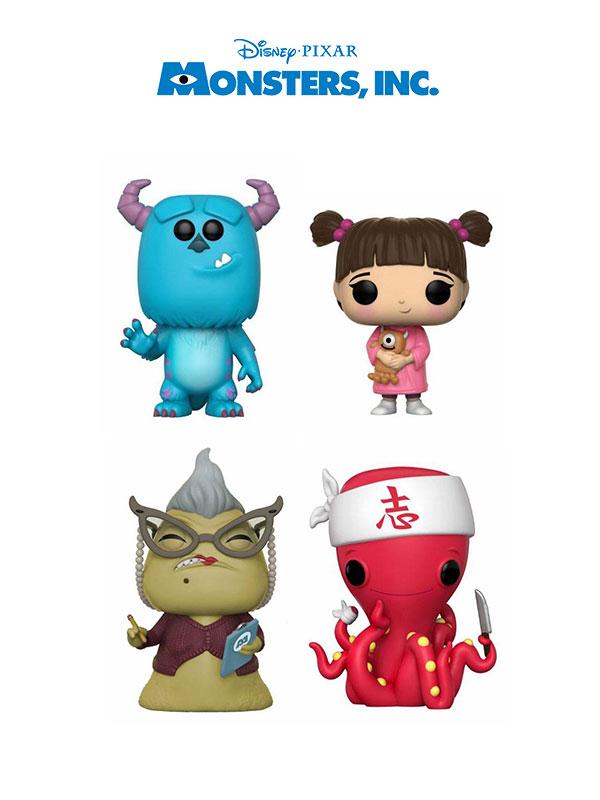 Funko Disney Monster Inc Wave 2