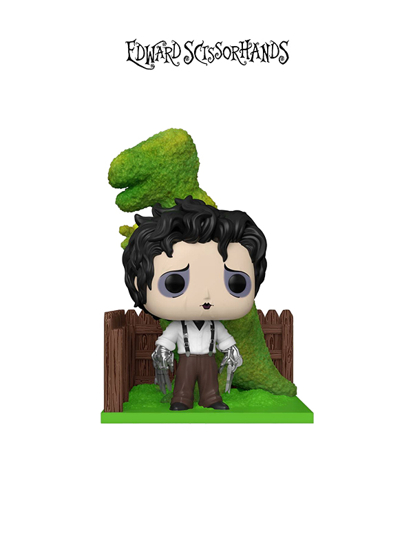 Funko Movie Moments Edward Scissorhands Edward and Dino Hedge Deluxe