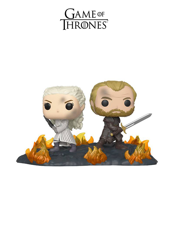 Funko Movie Moments Game Of Thrones Daenerys And Jorah