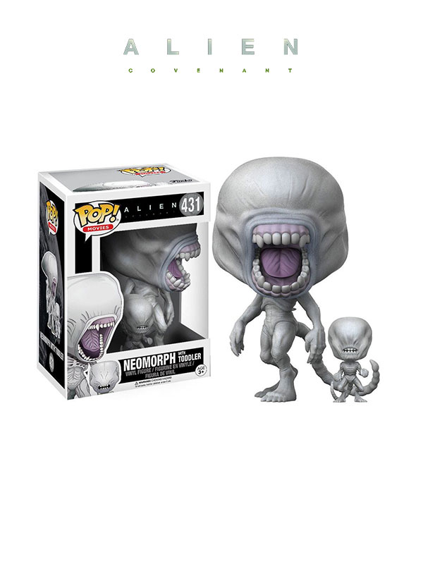 Funko Movies Alien Covenant Neomorph With Toddler