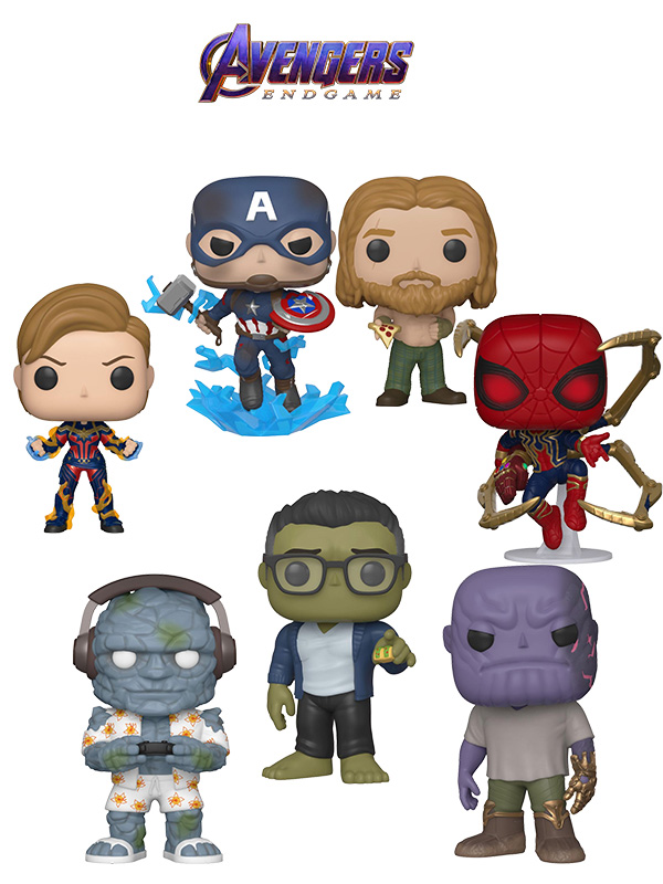 Funko Movies Avengers Endgame Wave 2019