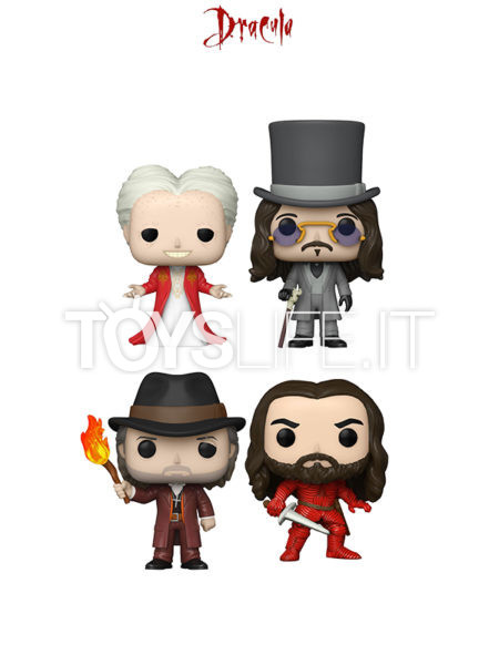 Funko Movies Bram Stoker's Dracula Armored Vlad The Impaler/ Count Dracula/ Prince Vlad/ Val Hensing