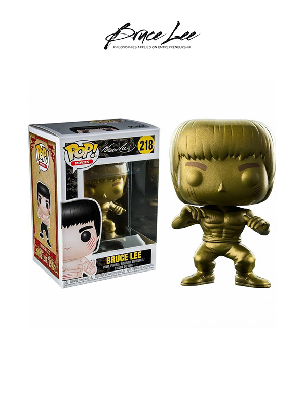 Funko Movies Enter The Dragon Bruce Lee Gold Exclusive