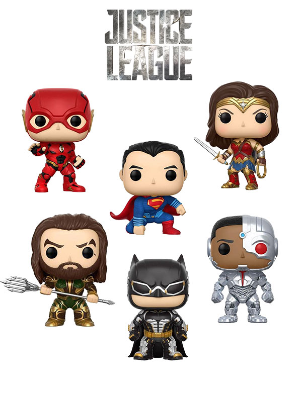 Funko Movies DC Justice League Set