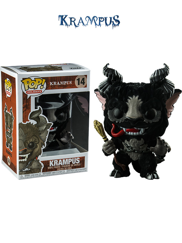 Funko Movies Krampus Black Flocked Exclusive
