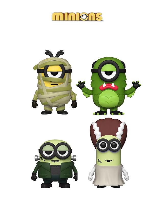Funko Movies Minions Halloween Bride Kevin/Frankenbob/Creature Mel/Mummy Stuart